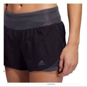 NWT adidas women run it shorts